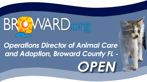 Broward County, FL- Assistant Director (Operations-Director) of Animal Care and Adoption